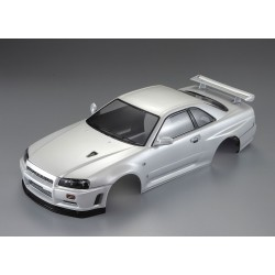 "KILLERBODY NISSN SKYLINE R34 ""PEARL-WHITE"" FINISHED BODY"