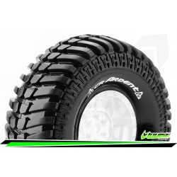 LOUISE CR-ARDENT - 1-10 CRAWLER TIRES - SUPER SOFT - FOR 1.9 RIMS -