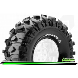 "LOUISE CR-ROWDY 1:10 CRAWLER TIRES SUPER SOFT FOR 1.9"" RIMS 1 PAIR"