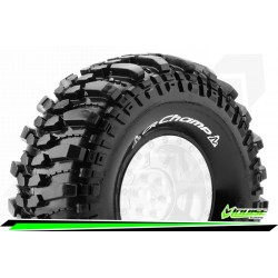 "LOUISE CR-CHAMP 1:10 CRAWLER TIRES SUPER SOFT FOR 1.9"" RIMS 1 PAIR"