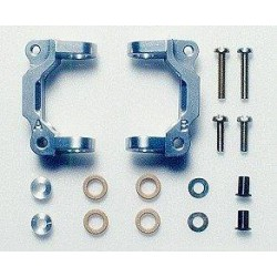 TAMIYA 1/10 TOURING CAR ALUMINIUM FRONT HUB CARRIER