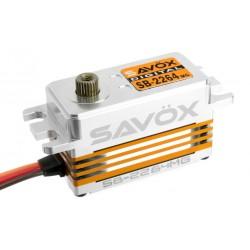 SAVOX SB-2264MG LOW PROFILE DIGITAL BRUSHLESS HV METAL GEAR