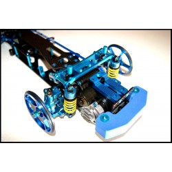 T2M RACING TA03F BUMPER (BLUE)