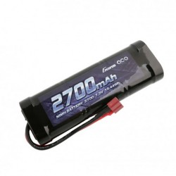 GENS ACE 7,2V 2700MAH NIMH BATTERY WITH T-PLUG