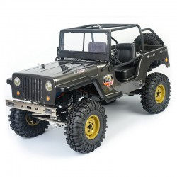 RGT JEEP 4X4 RTR 1:10 WATERPROOF CRAWLER DARK GREY