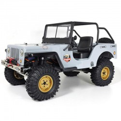 RGT JEEP 4X4 RTR 1:10 WATERPROOF CRAWLER LIGHT GREY