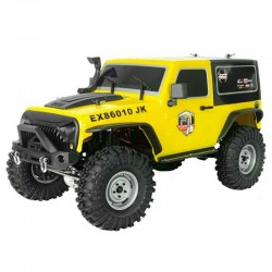 ROCK CRUISER 4X4 RTR 1:10 WATERPROOF CRAWLER WHITE