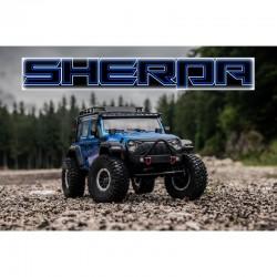 ABSIMA 1/10 SCALE CRAWLER CR 3.4 SHERPA RTR (BLUE)