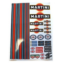 MARTINI DECAL SET