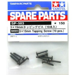 3X15MM TAPPING SCREW