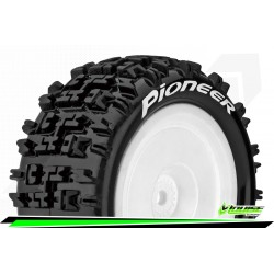 LOUISE RC - E-PIONEER - 1-10 Buggy Tire Set - Mounted - Soft - Hex 12mm - Rear