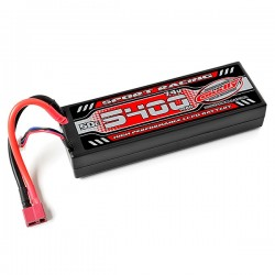 CORALLY SPORT RACING 50C LIPO BATTERY 5400MAH 7.4V T-PLUG 2S