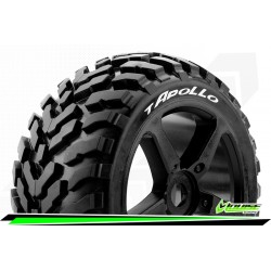 LOUISE RC T-APOLLO 1/8 TRUGGY TIRE SET  OFFSET 0 SOFT 2PCS
