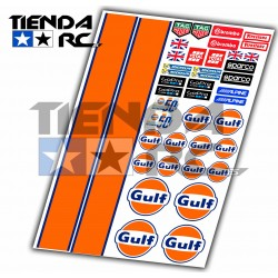 GULF DECAL SET