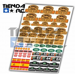 "CAMEL TROPHY ""TEAM SPAIN"" DECAL SET"