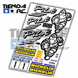 MICHELIN PILOT DECAL SET