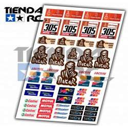 DAKAR DECAL SET