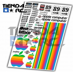 APPLE DECAL SET
