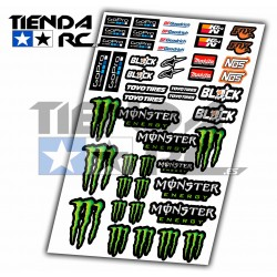 MONSTER DECAL SET
