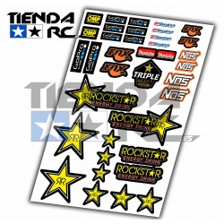 ROCKSTAR DECAL SET