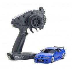 KYOSHO MINI-Z AWD NISSAN SKYLINE GT-R NISMO (R33) Blue