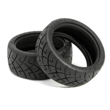 HPI X PATTERN RADIAL TIRE 26MM D COMPOUND