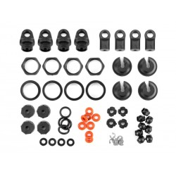 HPI RACING SHOCK PARTS SET (4 SHOCKS)