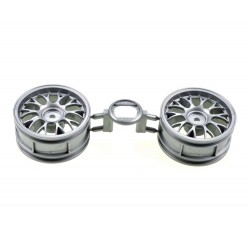 TAMIYA ONE PIECE MESH WHEELS (+2)