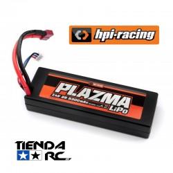 HPI PLAZMA 7.4V 5300MAH 40C LIPO HARD CASE