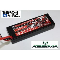 ABSIMA POWER TANK LIPO 7.4V.-60C 6200 HARDCASE