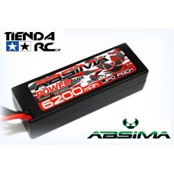 ABSIMA POWER TANK LIPO 11.1V.-60C 6200 HARDCASE