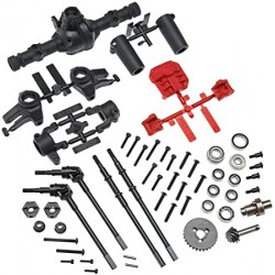 AXIAL LOCKED AXLE SET (FRONT OR REAR)