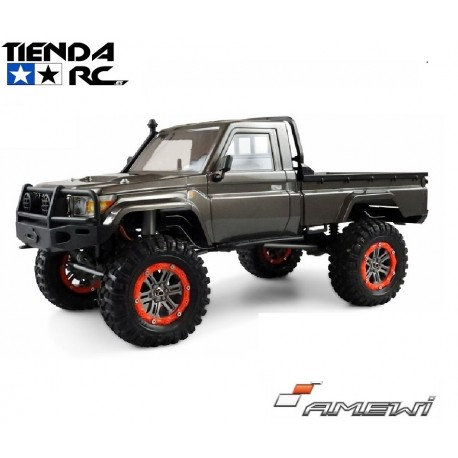 AMXROCK RCX10B SCALE CRAWLER PICK-UP RTR GREY
