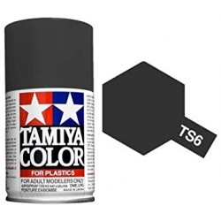 TAMIYA TS6 NEGRO MATE
