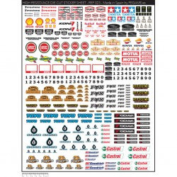PEGAME HIGH RESISTANCE DIE CUT STICKER SHEET (023)