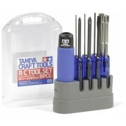 TAMIYA R/C Tool Set (8PCS) BLUE