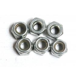 HEX LOCKNUTS M2 10PC