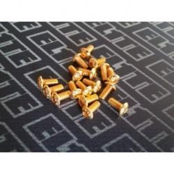 ELITE GOLD TORNILLERIA BOTON M3X12 (10PCS)