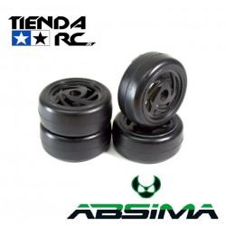 ABSIMA SLICK WHEEL SET RONIN (BLACK)
