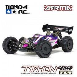 ARRMA TLR TUNED TYPHON 4WD 1:8 BUGGY ROLLER