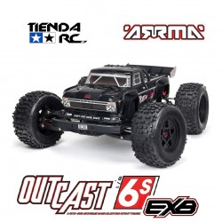 ARRMA OUTCAST 1/8 EXB STUNT TRUCK  6S 4WD RTR