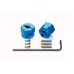 TAMIYA CLAMP TYPE ALUMINUMWHEEL HUB (9MM THICK/2PCS)