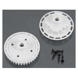 TA06 FRONT GEAR DIFFERENTIAL PULLEY &CASE SET (39T)