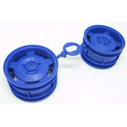 BUGGY  REAR STAR-DISH WHEELS (BLUE)