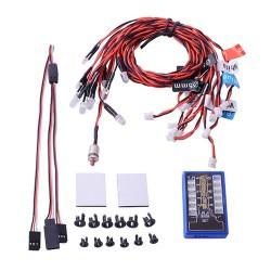 kit de luces gt power