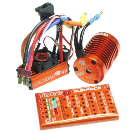 COMBO BRUSHLESS LEOPARD 12T -13T/60A
