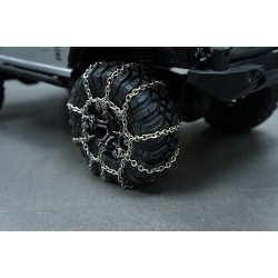 STEEL SNOW CHAIN 2PCS FOR 1.9 CRAWLER TIRE