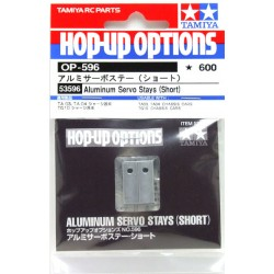 TAMIYA ALUMINUM SERVO STAYS (SHORT)