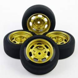 RUEDAS DRIFT K-FORCE RACING VINTAGE CHAPA