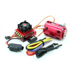 COMBO BRUSHLESS TRACKSTAR TURBO 80A 17.5